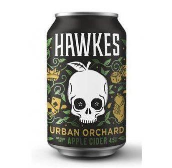 Hawkes Urban Orchard Cider 24x330ml can