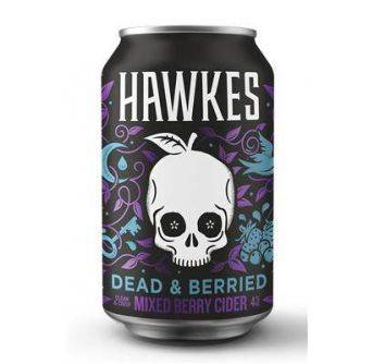 Hawkes Dead & Berried 24x330ml can