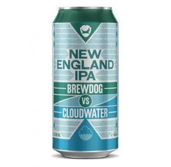 Brewdog New England IPA Cloudwater 12x440ml can
