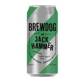 Brewdog Jack Hammer 12x440ml can