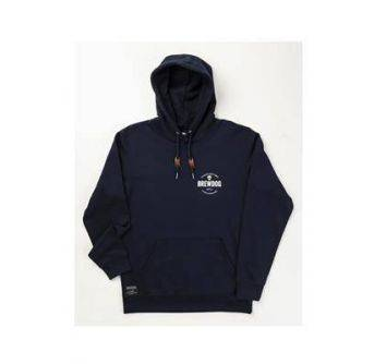 POS Brewdog Navy Over Head BD logo hoodie str.XXL