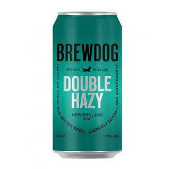 Brewdog Double Hazy 7,2% 12x440ml can
