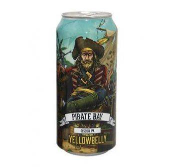 Yellowbelly Pirate Bay Session IPA 24x440ml can
