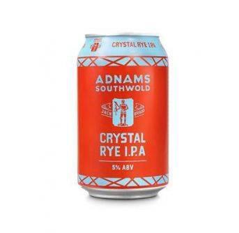 Adnams Crystal Rye IPA 24x330ml can