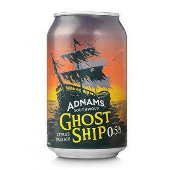 Adnams Ghost Ship AF 24x330ml can