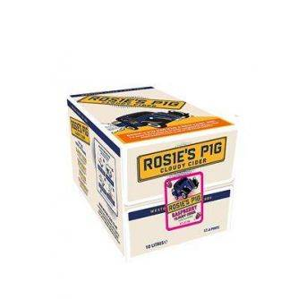 Westons Rosies Pig Raspberry and Cucumber 10L Box