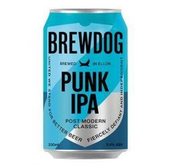 Brewdog Punk IPA 24x330ml can 5,4%