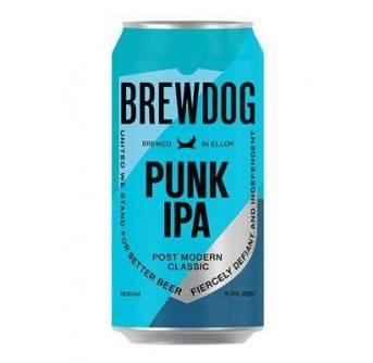Brewdog Punk IPA 24x500ml can 5,4%