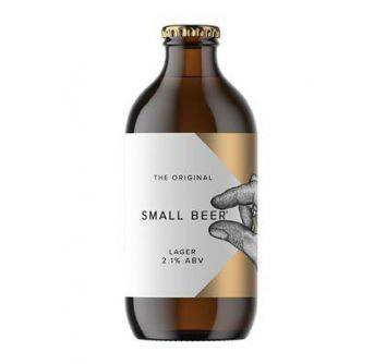 Small Beer Lager 24x350ml NRB