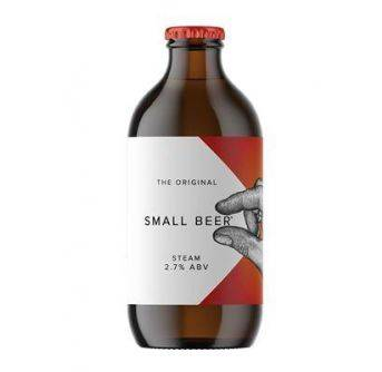 Small Beer Steam 24x350ml NRB