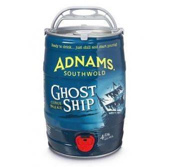 Adnams Ghost Ship 2x5L Mini Keg