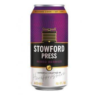 Westons Stowford Press Mixed Berries 24x440ml Can
