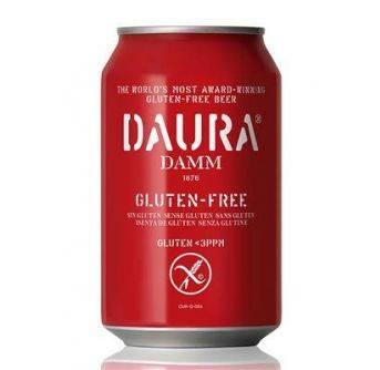 Estrella Damm Daura 24x330ml can