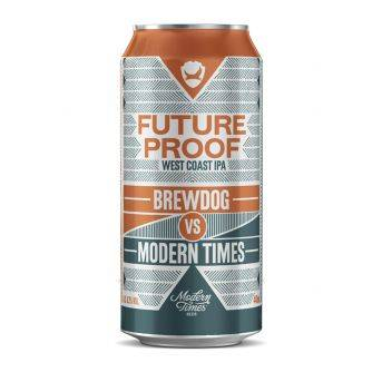 Brewdog VS Modern Times Future Proof 12x440ml Can