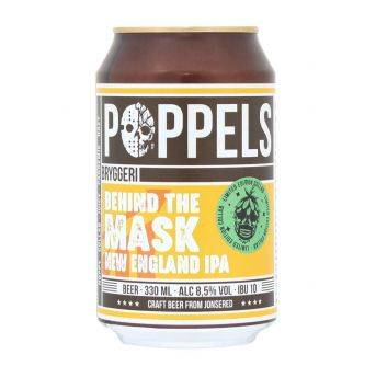 Poppels Behind the mask 24x330ml Can