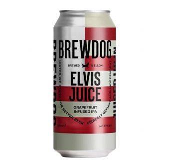 Brewdog Elvis Juice 5,1% 12x440ml can