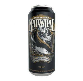 Sierra Nevada Barrel Aged Narwhal 4pak x 473ml can