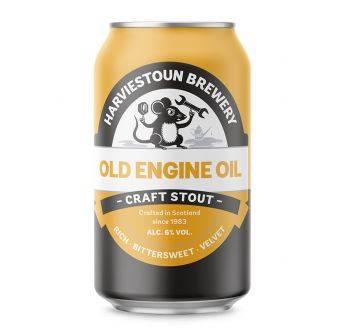 Harviestoun Old Engine Oil 24x330ml can