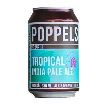 Poppels Tropical IPA 24x330ml can