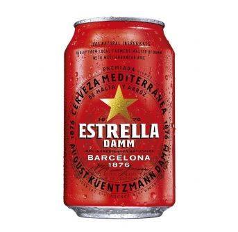 Estrella Damm Barcelona 24x330ml can