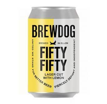 Brewdog Fifty Fifty 12x330ml can