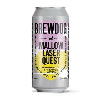 Brewdog Mallow Laser Quest 12x440ml can