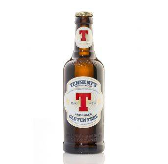 Tennents Lager Gluten Free 24x330ml NRB