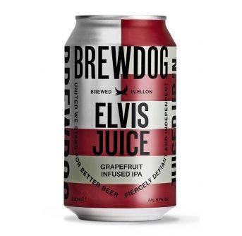Brewdog Elvis Juice 24x330ml can