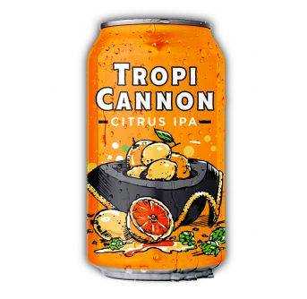 Heavy Seas Tropicannon Citrus IPA 24x355ml can