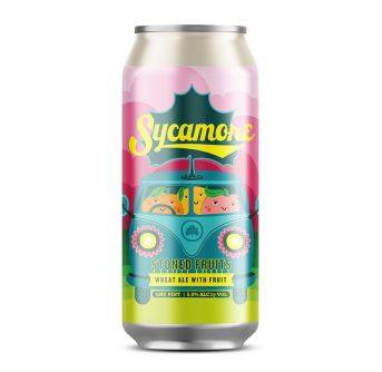 Sycamore Stone Fruit Wheat Ale 24x473ml can