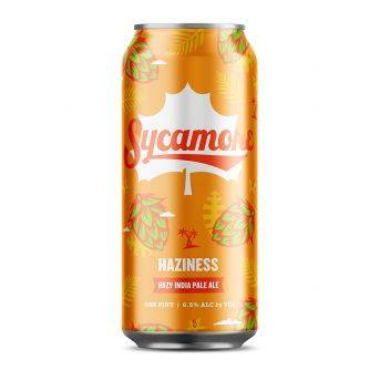 Sycamore Haziness IPA 24x473ml can