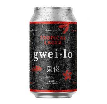 Gweilo Tropical Lager 12x330ml can