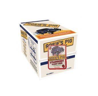 Westons Rosies Pig Strawberry 10L Box