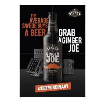 POS Ginger Joe A4 poster