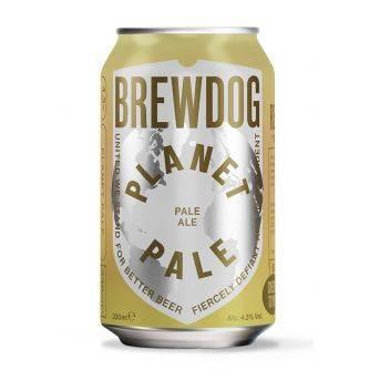 Brewdog Planet Pale 24x330ml can