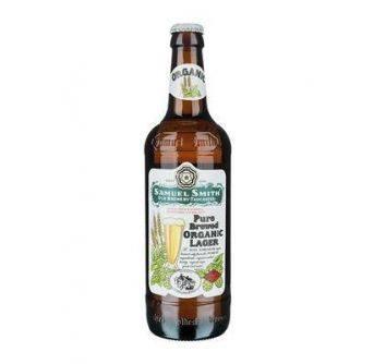 Samuel Smith Pure Brewed Organic Lager 12x550ml NR