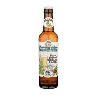 Samuel Smith Pure Brewed Organic Lager 24x355ml NR