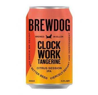 Brewdog Clockwork Tangerine 24x330ml can