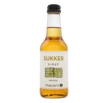 Macarn Økologisk Sukker Sirup 12x250ml NRB