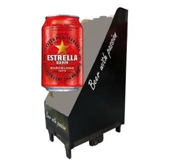Estrella Damm Barcelona 288x330ml can Kvartpalle