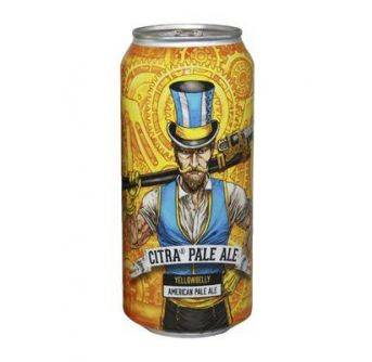 YellowBelly Citra Pale Ale 24x440ml can