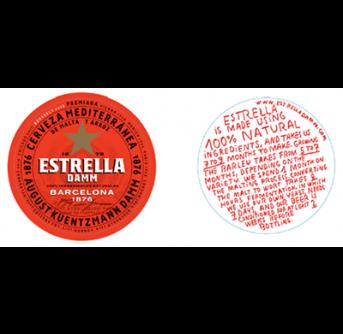 POS Estrella ølbrikker 100 stk.