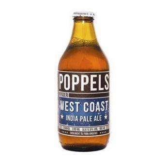 Poppels Organic West Coast IPA 24x330ml NRB