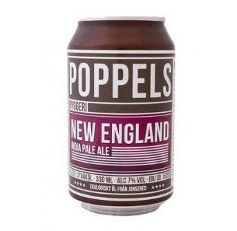 Poppels Organic NEIPA 24x330ml can