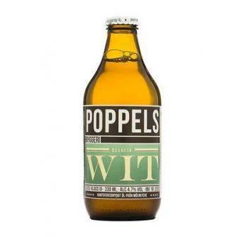 Poppels Organic Belgisk Wit 24x330ml NRB