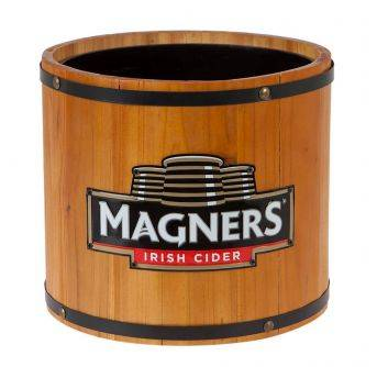 POS Magners wooden ice bucket