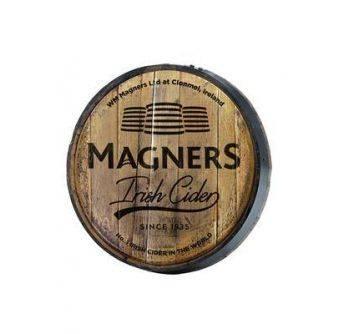 POS Magners Vintage wooden barrel sign