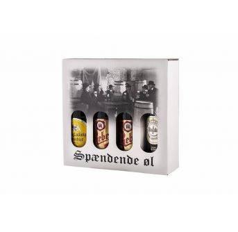 Spændende Øl kvartpalle 4x500ml x 40stk