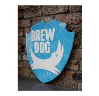 POS Brewdog Metal Skilt