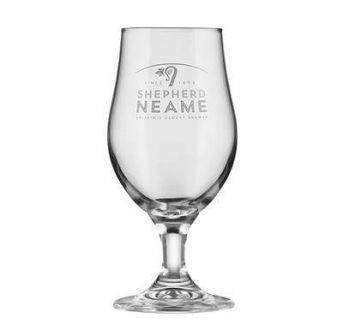 Glas Shepherd Neame stilk 6x1/2pint
